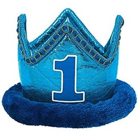 Crown - 1st Birthday Deluxe Blue