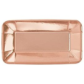 Appetizer Plates - Rose Gold