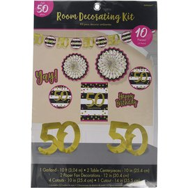 Room Decor Kit - Pink and Gold 50