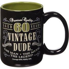 Mugs- Vintage Dude Milestone 60