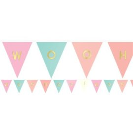 Pastel Customizable Pennant Banner