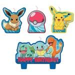 Birthday Candle Set-Pokemon