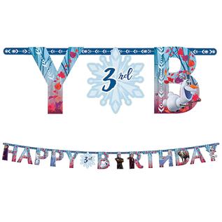 Jumbo Letter Banner Kit-Frozen II
