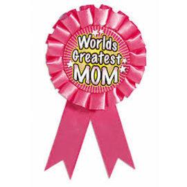 Award Ribbon-World's Greatest Mom