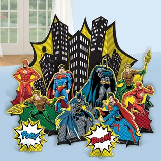 Table Decorating Kit-Justice League Heroes Unite