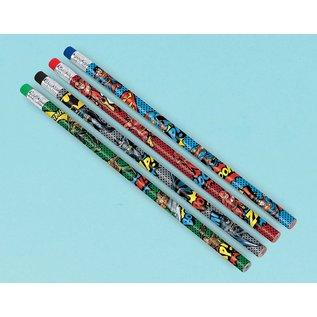 Pencils-Justice League Heroes Unite