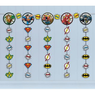 Hanging String Decoration-Justice League Heroes Unite