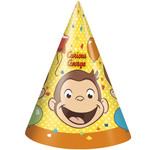 Party Hats-Curious George
