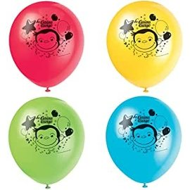Latex Balloons-Curious George