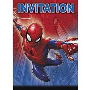 Invitations-Spiderman