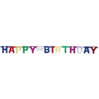Banner-Happy Birthday-Multicolor
