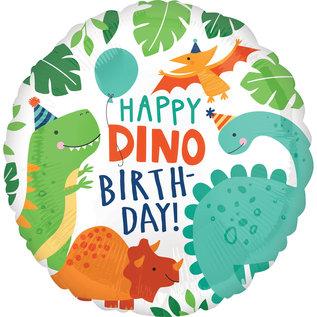 """Foil Balloon-Dino-Mite Party-18"""""""