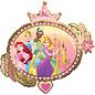 "Foil Balloon-Disney Princess- 34"""