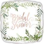 """Foil Balloon - Bridal Shower Love Leaves (18"""")"""