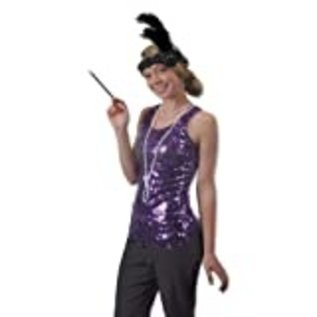 Costume Accesssories-Flapper Headband with beads-1 Piece
