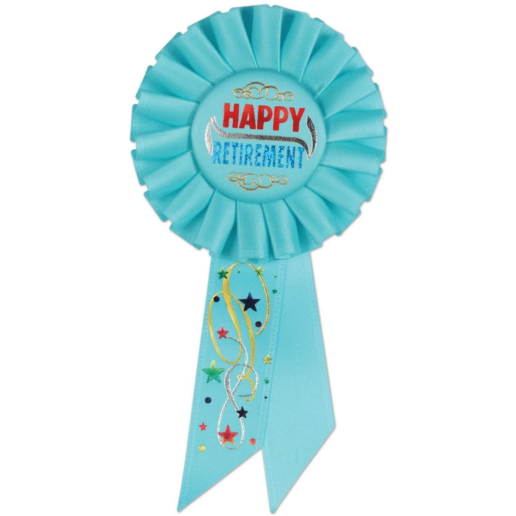 Award Ribbon - Happy Retirement