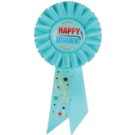 Award Ribbon - Happy Retirement