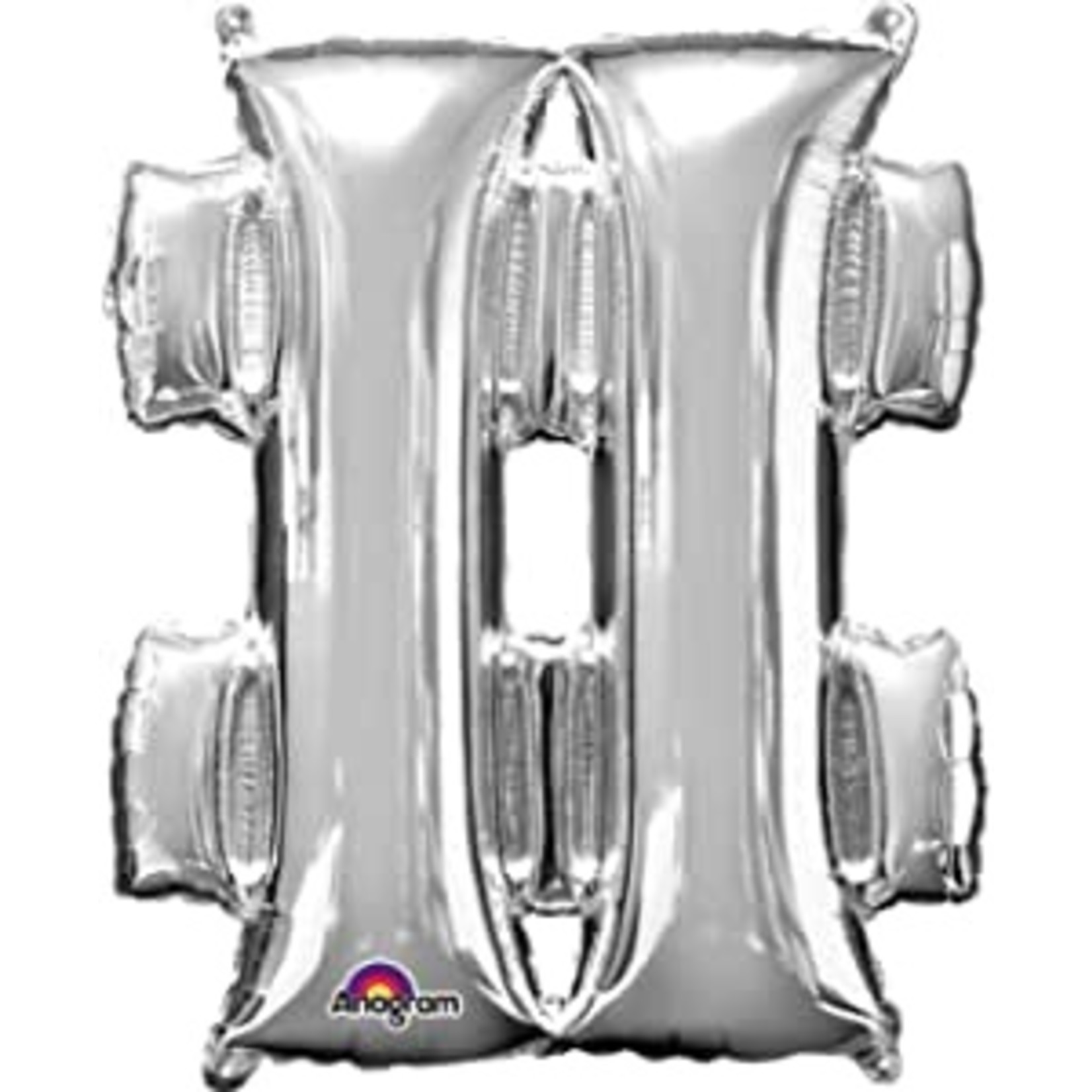 Air Filled Foil-# Silver