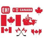 Cutouts Canada 30pcs