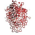 Confetti- Hearts- Foil- 0.5oz