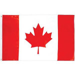 Flag  - Canada - 1 pc (5ft x 3 ft)