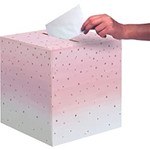 Card Box - Rose all day/ 12 x 12In/ 1 Count