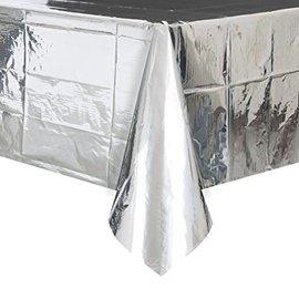 Table Cover- Metallic Silver