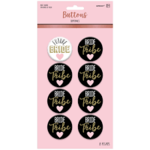 Buttons-Bride Tribe-Bachelorette-8pk