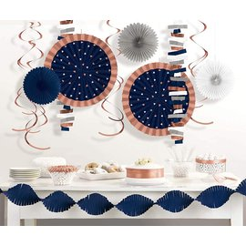 Room Decorating Kit-Navy Bride