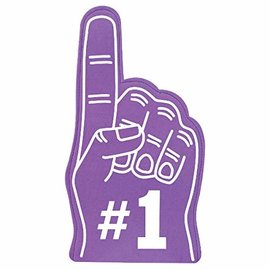 Foam Finger-Purple