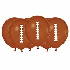 Balloons-Package Latex-Football-6pcs