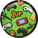 """Beverage Paper Plates- Gaming Party- 8pk-7"""""""