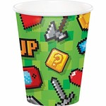 Cups-Gaming Party-Paper-8pk-9oz
