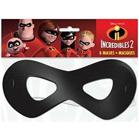 Masks-Incredibles 2-8pk