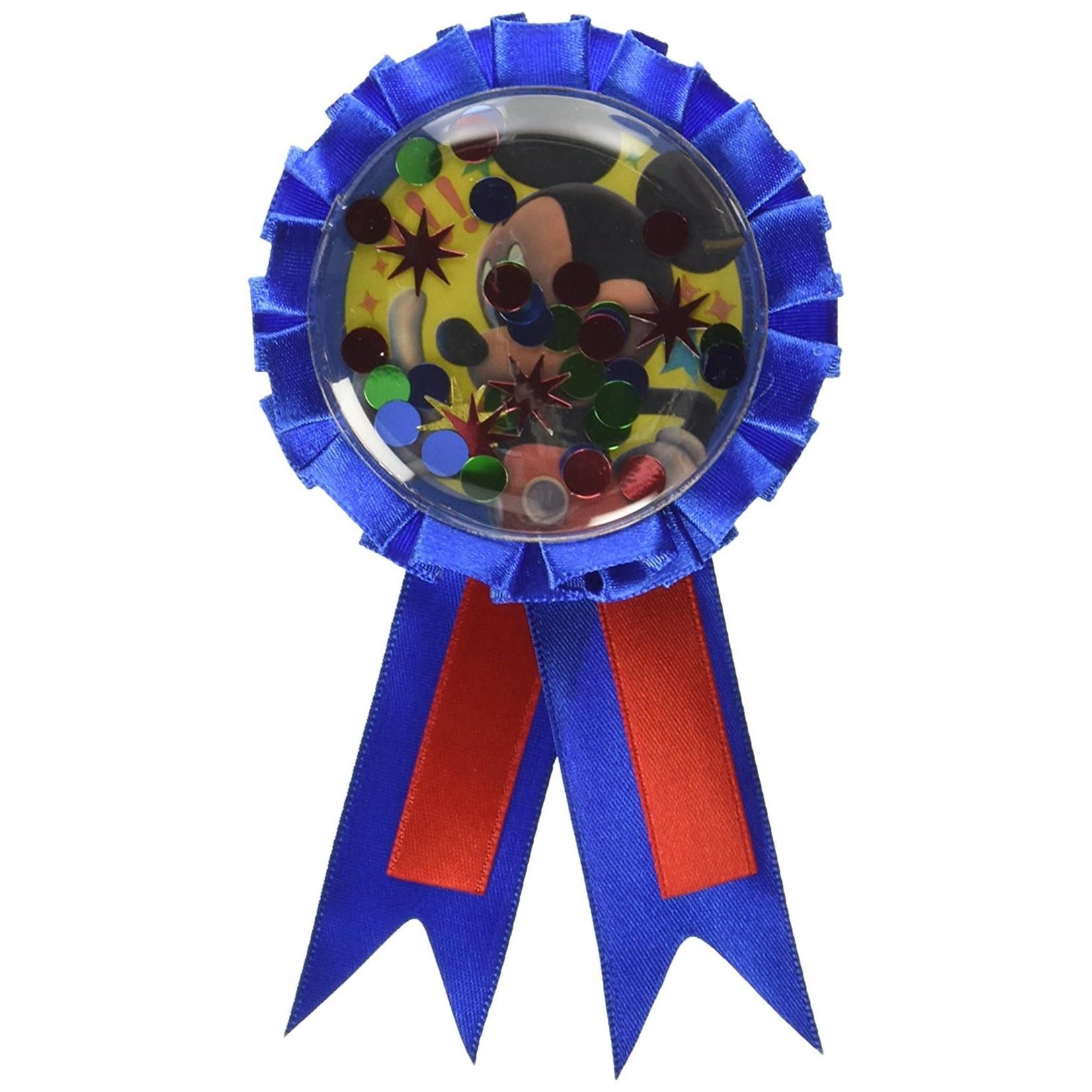 Award Ribbon-Mickey Mouse w/Confetti
