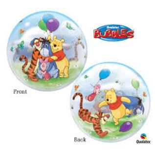 "Balloon Bubbles - Winnie the Pooh - 22"" - 1 pc"