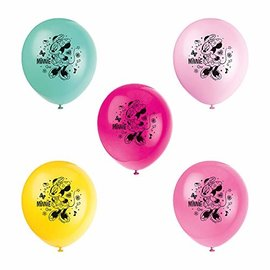 Balloons-Latex-Minnie Mouse-8pk