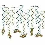Hanging Decorations-Monkey Whirls-12pk