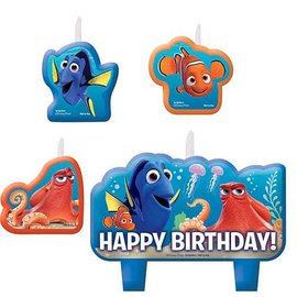 Candle Set-Finding Dory-4pk
