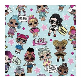 "Gift Wrap- LOL Surprise!- 30"" X 5ft"