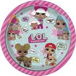 """Luncheon Paper Plates-LOL Surprise!-8pk-9"""""""