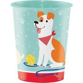 Cups- Dog Party- Plastic- 16oz