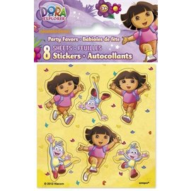 Stickers-Dora the Exploprer-8 Sheets