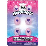 Hatchimals 4 Pencil Toppers