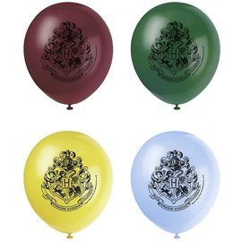 Latex Balloons- Package/Harry Potter/8 Count