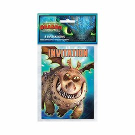 Invitations-How To Train Your Dragon: Hidden World- 8pk