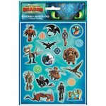 Stickers-How To Train Your Dragon: Hidden World- 80pcs