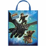 Party Tote Bag- How To Train Your Dragon: Hidden World- 1pk