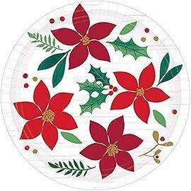 Plates Bev Christmas Wishes ( 8PK)