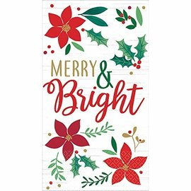 Guest Towel Christmas Wishes (16PK)